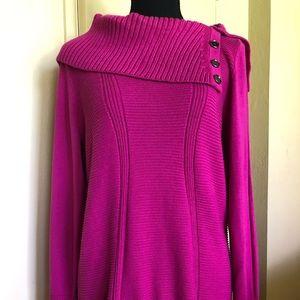 Sweater Fushia